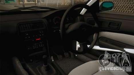 Nissan Silvia S14 Drift v2 для GTA San Andreas вид изнутри