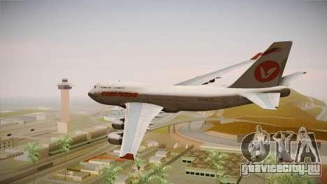 Boeing 747-400 Conviasa для GTA San Andreas вид справа