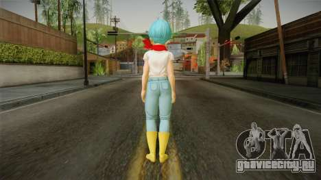 Dragon Ball Xenoverse 2 - Bulma DBS v2 для GTA San Andreas третий скриншот