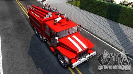 Урал 375 Виктора Кибенка для GTA San Andreas вид справа