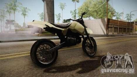 Sanchez Stunt v1 для GTA San Andreas вид слева