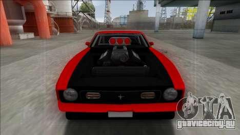 1971 Ford Mustang Drag для GTA San Andreas вид слева
