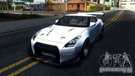 Nissan GT-R R35 Rocket Bunny v2 для GTA San Andreas