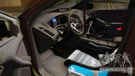 Ford Focus RS 2017 4x4 Drift для GTA San Andreas вид сбоку