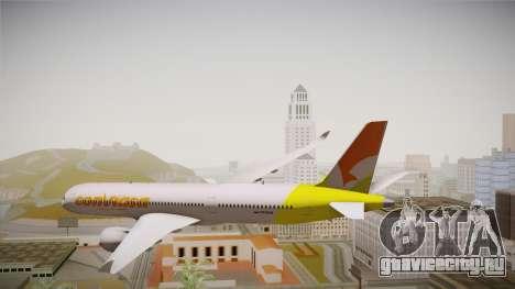 Airbus A350 Conviasa для GTA San Andreas вид справа