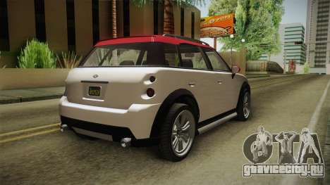 GTA 5 Weeny Issi Countryboy IVF для GTA San Andreas вид сзади слева