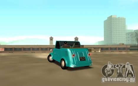 CeAZ C ZA 1958 для GTA San Andreas вид сзади слева