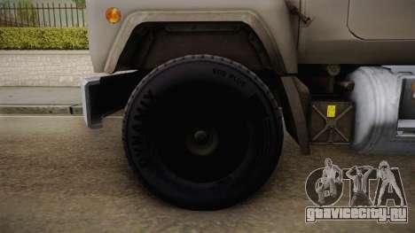 Mack RD690 Cement Mixer Truck 1992 для GTA San Andreas вид сзади