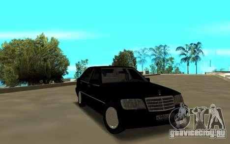 Mercedes-Benz 600SEL W140 для GTA San Andreas