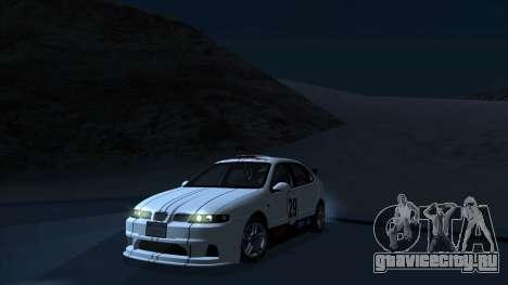 2003 Seat Leon Cupra R Series I для GTA San Andreas вид сверху