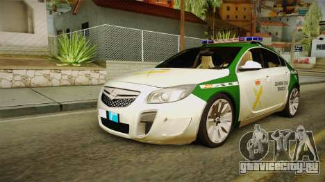 Opel Insignia Guardia Civil Tráfico для GTA San Andreas