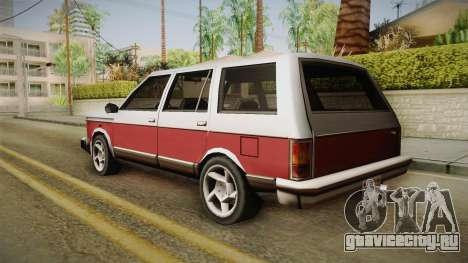 Bobcat Station Wagon v2 для GTA San Andreas вид слева