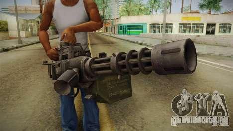 Minigun для GTA San Andreas третий скриншот