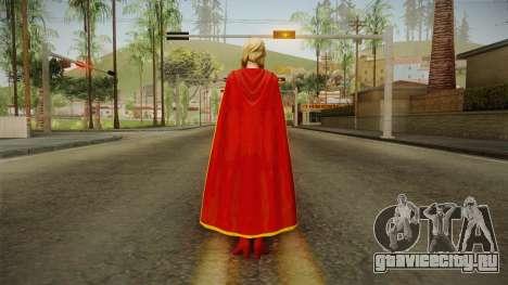DC Comics Legends - Supergirl для GTA San Andreas третий скриншот