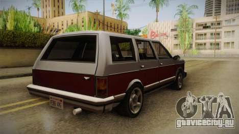 Bobcat Station Wagon v2 для GTA San Andreas вид сзади слева