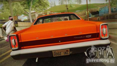 Ford Fairlane 500 1966 IVF для GTA San Andreas вид справа