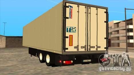 Прицеп Shmitz Cargobull для GTA San Andreas вид слева