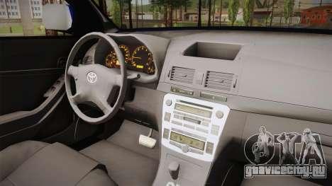 Toyota Hilux Turkish Gendarmerie Vehicle для GTA San Andreas вид сзади