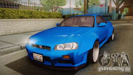 Nissan Skyline R34 14th Street для GTA San Andreas