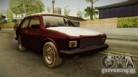 Yugo Koral 55 Winter для GTA San Andreas