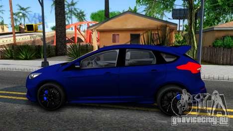 Ford Focus 2017 для GTA San Andreas вид слева