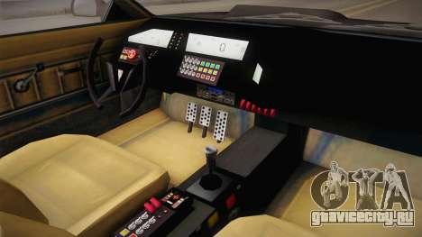 GTA 5 Imponte Ruiner 2000 IVF для GTA San Andreas вид изнутри