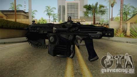 Gears Of War II - Mark 2 Lancer Assault Rifle для GTA San Andreas третий скриншот