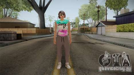 GTA Online DLC Import-Export Female Skin 1 для GTA San Andreas второй скриншот