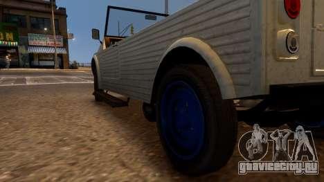 Canis Kalahari для GTA 4 вид сзади