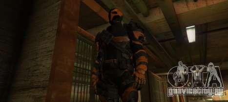 Deathstroke - Joe Manganiello для GTA 5 третий скриншот