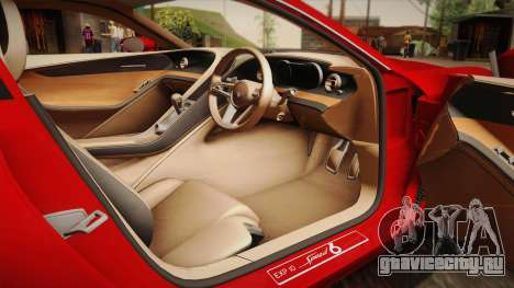 Bentley EXP 10 Speed 6 для GTA San Andreas вид сбоку