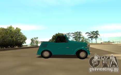 CeAZ C ZA 1958 для GTA San Andreas вид слева