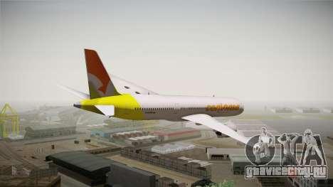 Airbus A350 Conviasa для GTA San Andreas вид слева