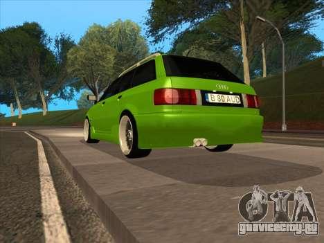 Audi 80 NFS для GTA San Andreas вид слева
