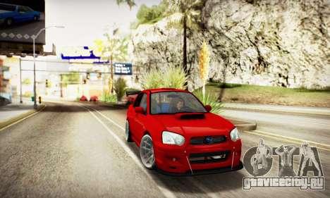 SUBARU IMPREZA WRX STi (IVF 2.0.2) для GTA San Andreas