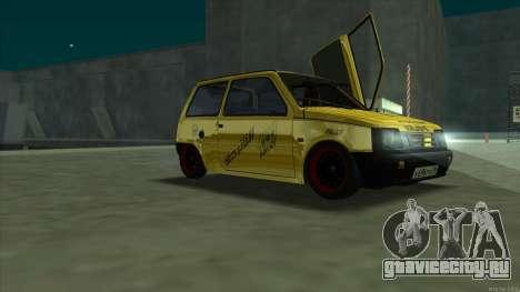 ВАЗ 1111 Оказия для GTA San Andreas вид справа