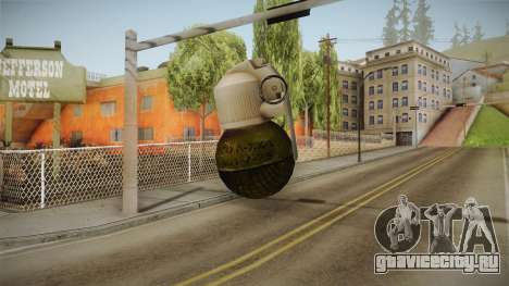 Survarium - RGO Grenade для GTA San Andreas третий скриншот