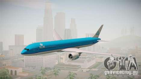 Boeing 787 KLM для GTA San Andreas