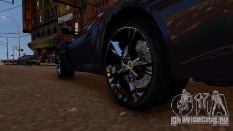 Lotus Exige Cup 360 для GTA 4 вид сзади