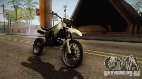 Sanchez Stunt v1 для GTA San Andreas вид сзади слева