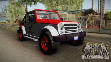 GTA 5 Canis Mesa SWB IVF для GTA San Andreas