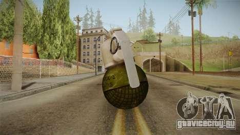 Survarium - RGO Grenade для GTA San Andreas