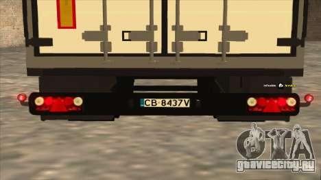 Прицеп Shmitz Cargobull для GTA San Andreas вид справа