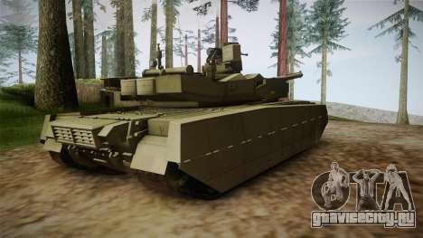T-84 Oplot-M для GTA San Andreas вид слева