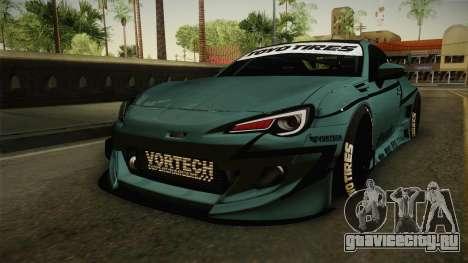 Subaru BRZ Pandem Rocket Bunny v3 для GTA San Andreas