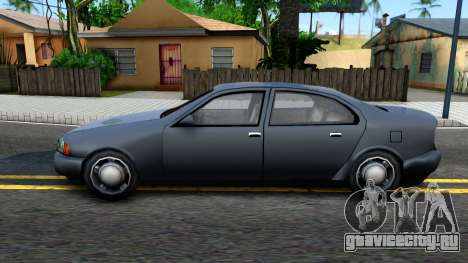 GTA 3 Kuruma SA style V2 для GTA San Andreas вид слева
