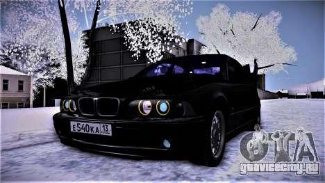 BMW 540 E39 для GTA San Andreas