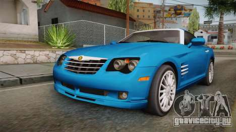 Chrysler Crossfire SRT-6 2006 для GTA San Andreas