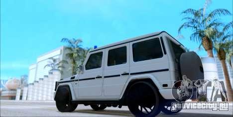 Mercedes-Benz G500 для GTA San Andreas вид слева
