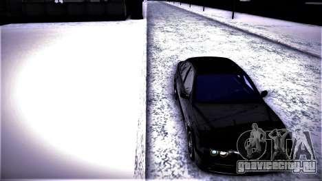 BMW 540 E39 для GTA San Andreas вид слева